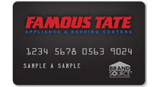 Famous Tate BrandSource Card